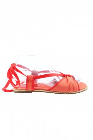 H&M Komfort-Sandalen rot Casual-Look