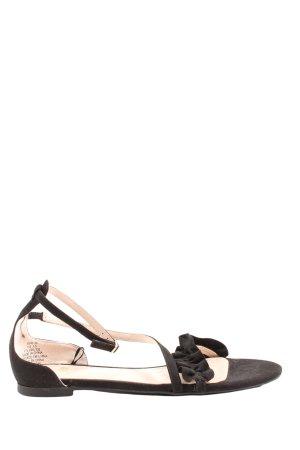 H&M Komfort-Sandalen braun-creme Casual-Look