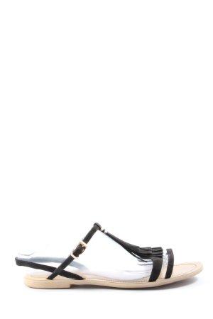 H&M Sandales confort noir style décontracté