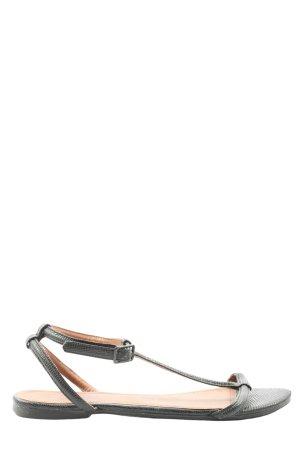 H&M Komfort-Sandalen schwarz Casual-Look