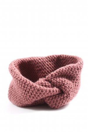 H&M Kopfschmuck pink Streifenmuster Casual-Look