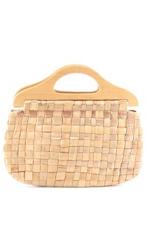 H&M Basket Bag nude casual look