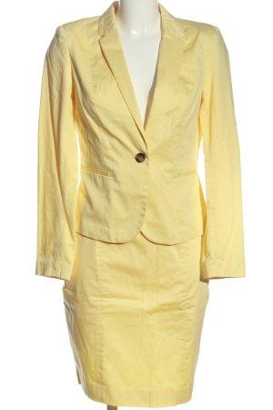 H&M Kostüm blassgelb Business-Look