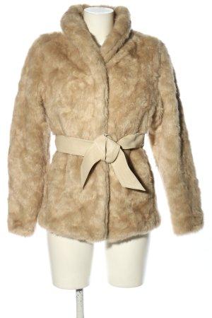 H&M Fake Fur Jacket natural white casual look