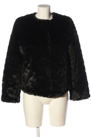 H&M Kurtka ze sztucznym futrem czarny W stylu casual