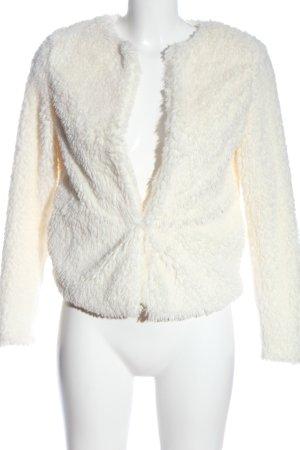 H&M Kurtka ze sztucznym futrem kremowy W stylu casual