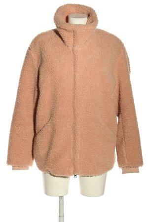 H&M Veste en fausse fourrure rose chair style décontracté
