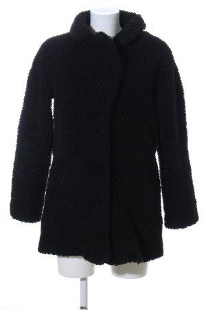 H&M Giacca in eco pelliccia nero stile casual