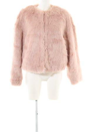 H&M jacke pink Motivdruck extravaganter Stil