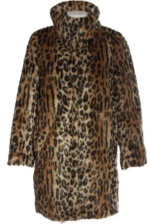 H&M Cappotto in eco pelliccia motivo animale stile casual