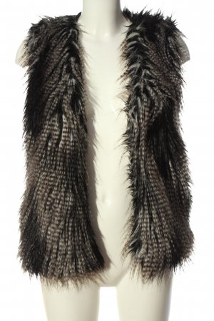 H&M Fake Fur Vest multicolored casual look