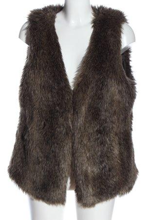 H&M Kamizelka ze sztucznym futrem Wielokolorowy W stylu casual