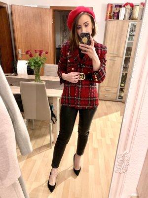 H&M Divided Pantalon en cuir noir