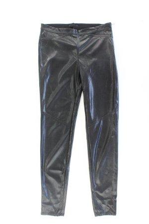 H&M Kunstlederhose Größe 36 schwarz aus Polyester