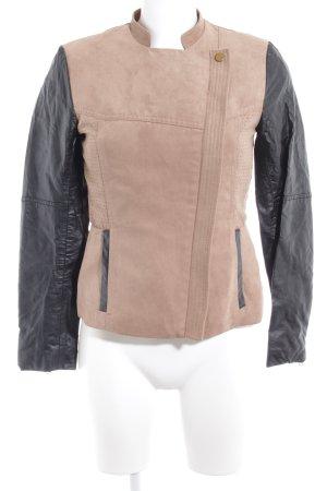 H&M jacke beige-schwarz Casual-Look