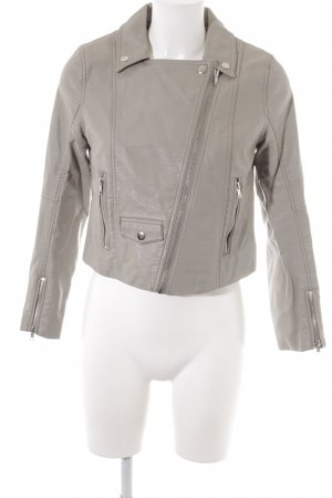 H&M jacke graubraun Street-Fashion-Look