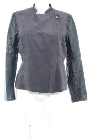 H&M jacke schwarz-dunkelgrau Casual-Look