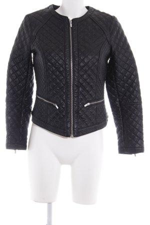 H&M jacke schwarz Karomuster Casual-Look