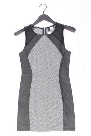 H&M Kunstlederkleid Größe 36/38 Ärmellos grau aus Polyester