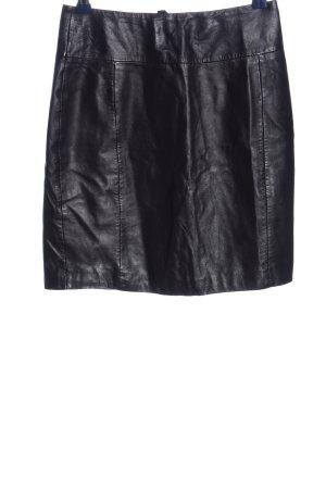 H&M Gonna in pelle nero stile casual
