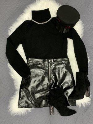 H&M Kunstlederrock