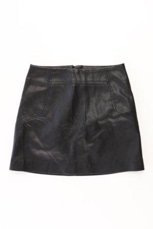 H&M Spódnica z imitacji skóry czarny Poliuretan