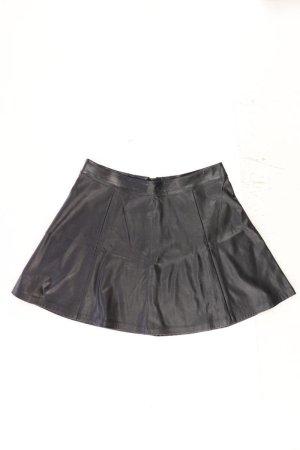 H&M Spódnica z imitacji skóry czarny Poliester