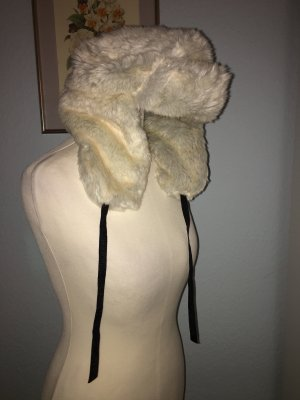 H&M Fur Hat silver-colored