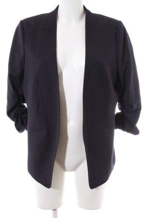 H&M Kurz-Blazer lila Business-Look