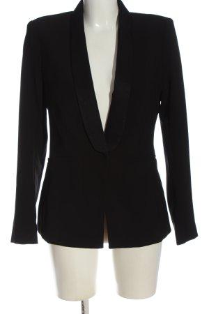 H&M Korte blazer zwart zakelijke stijl