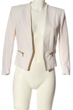 H&M Kurz-Blazer creme Casual-Look