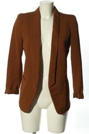 H&M Kurz-Blazer braun Casual-Look
