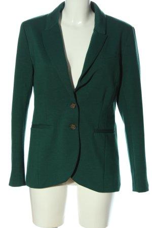 H&M Korte blazer turkoois gestippeld zakelijke stijl