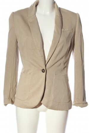 H&M Kurz-Blazer braun Business-Look