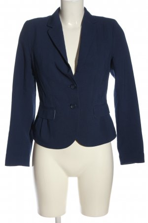 H&M Korte blazer blauw zakelijke stijl