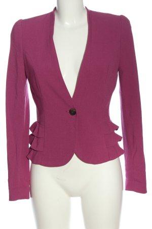 H&M Kurz-Blazer pink Elegant