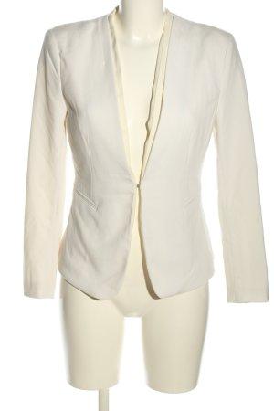 H&M Korte blazer wit zakelijke stijl