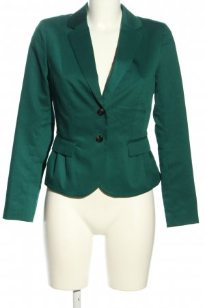 H&M Kurz-Blazer grün Business-Look