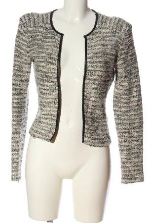 H&M Kurz-Blazer weiß-wollweiß Casual-Look