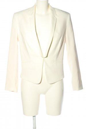 H&M Kurz-Blazer creme Business-Look