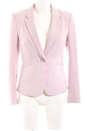 H&M Kurz-Blazer pink meliert Business-Look