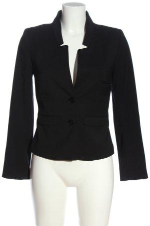 H&M Kurz-Blazer schwarz Business-Look