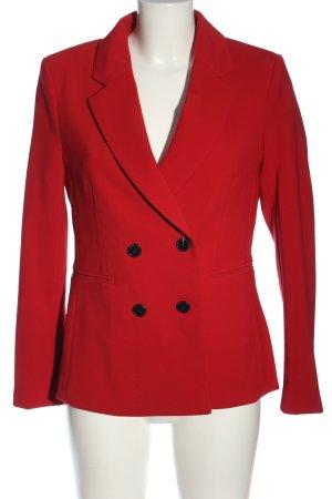 H&M Korte blazer rood zakelijke stijl