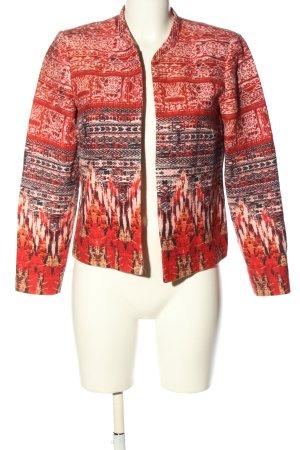 H&M Kurz-Blazer abstraktes Muster Business-Look