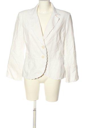 H&M Kurz-Blazer weiß Casual-Look