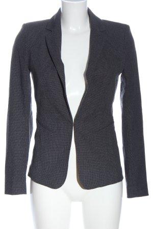 H&M Kurz-Blazer blau Allover-Druck Casual-Look