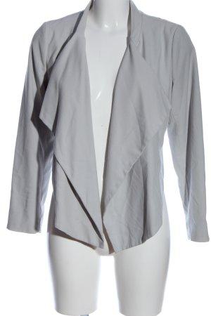 H&M Kurz-Blazer hellgrau Elegant