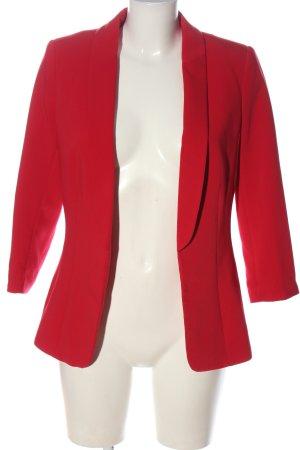 H&M Kurz-Blazer rot Business-Look