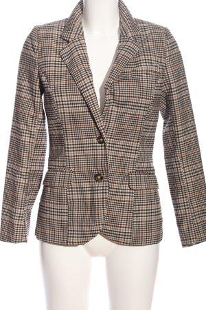 H&M Kurz-Blazer Streifenmuster Business-Look