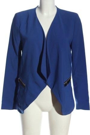 H&M Kurz-Blazer blau-schwarz Casual-Look
